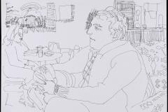 Ben Rogers in Coffee Shop