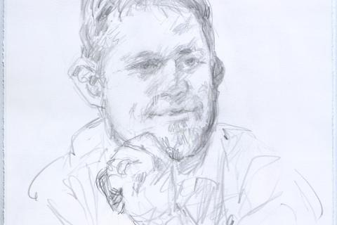 Brian - Life drawing