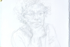 Paula - Life drawing