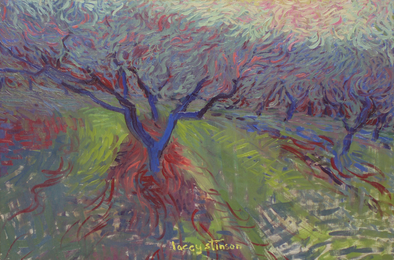Blue Peach Tree