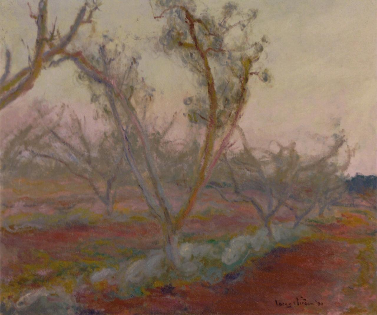 Peach Orchard, Dusk