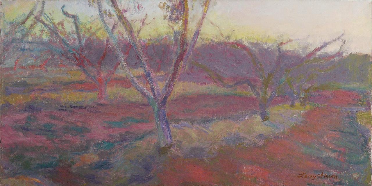 Peach Orchard, Eveneing
