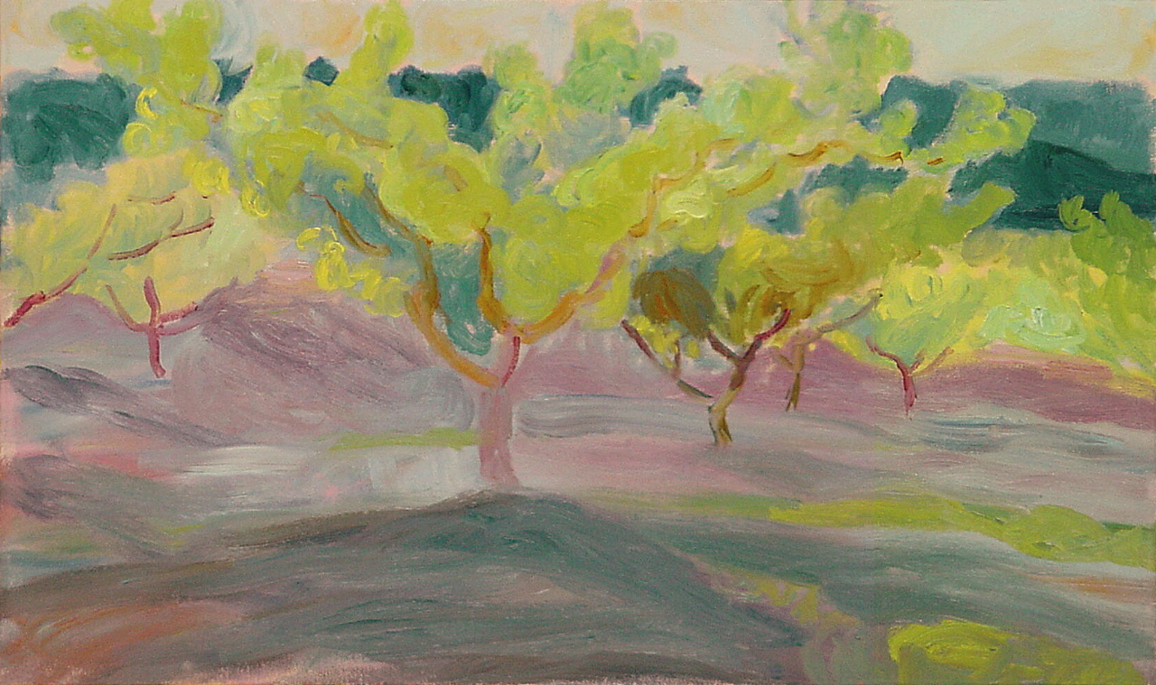 Orchard Trees, Green