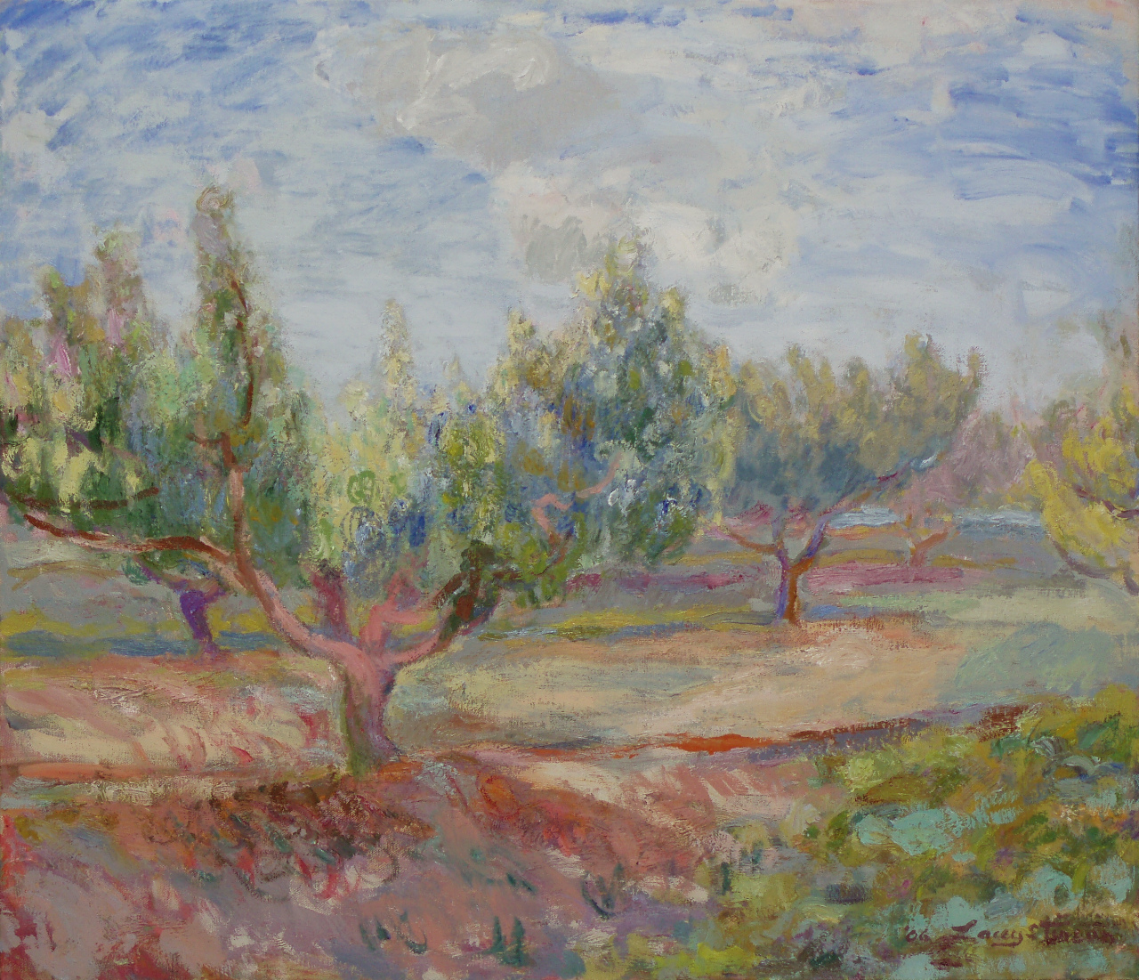 South Orchard Peach Tree