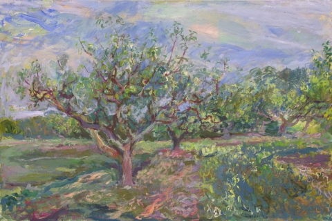 Orchard Landscapes on Canvas