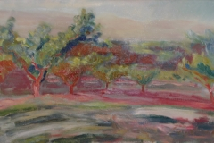 Orchard Trees, Red Clay