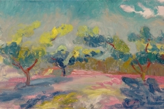Orchard Trees, Yellow