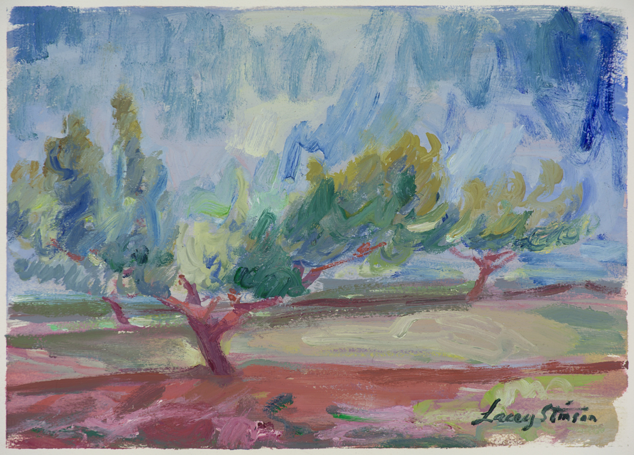 South Orchard Peach Tree - Study