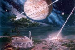 A Night Beneath the Light of Saturn
